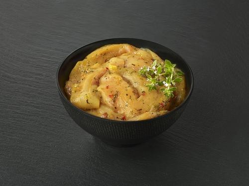 Aiguillettes de poulet marinées romarin Citron