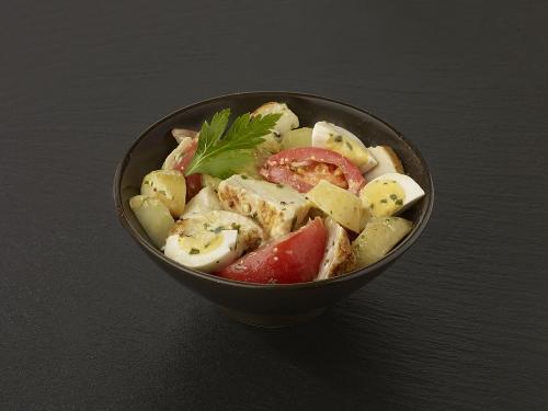 Salade Rustique au Poulet Rôti